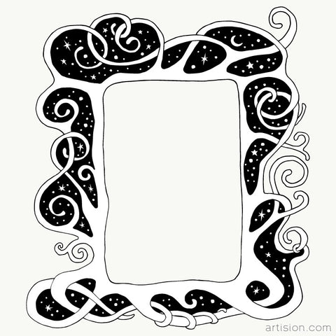 Enchanted Frame Illustration