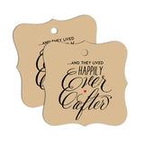 """Happily Ever After"" Favor Tags 60-pk"