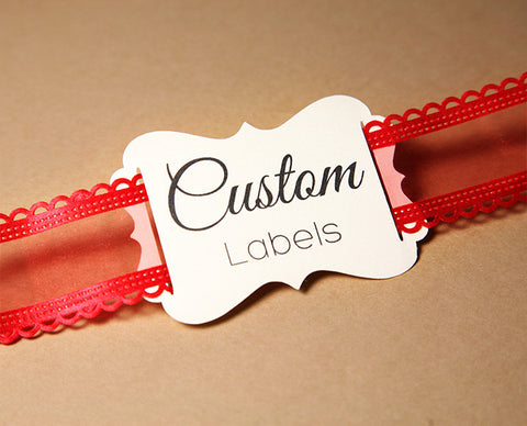 "Ribbon Slider Labels - 2.4"" x 3.5"" 32-pk"