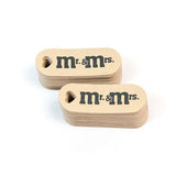 "Mr. & Mrs. Wedding Favor Tags 0.7"" by 1.9""- 50pk"