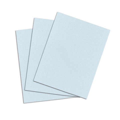 Ice Blue Cardstock - 8 1/2 X 11