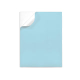 "Pastel BLUE label sheets 8.5"" x 11"""