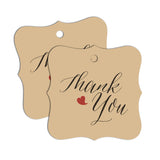 """Thank You"" Gift Tags 60-pk"
