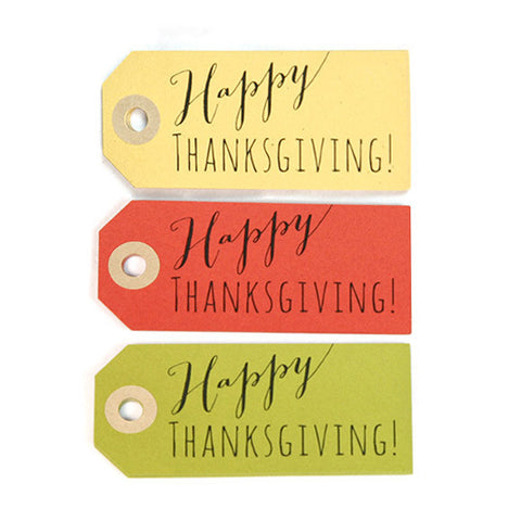 Thanksgiving Gift Tags 90-pk