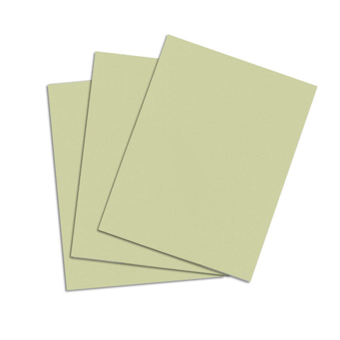 Thyme Green Cardstock - 8 1/2 X 11