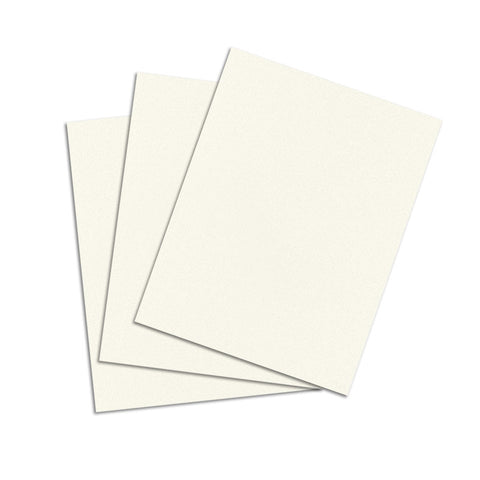 Natural White Cardstock - 8 1/2 X 11