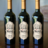 "Personalized Bottle Labels 2.5"" x 5"" 24-pack"
