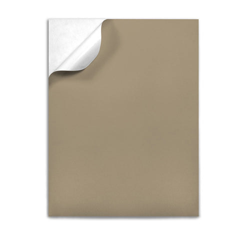 "Brown Kraft Label Sheets 8.5"" x 11"""