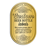 "Beer Bottle Labels 2.4"" x 4"""