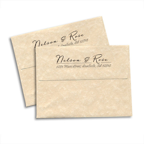 Return Address Envelopes