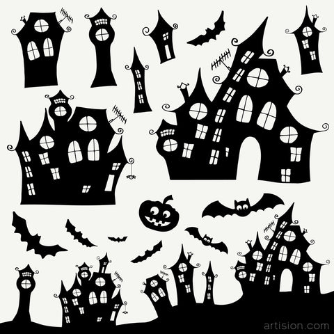 Hand Drawn Halloween Clip Art