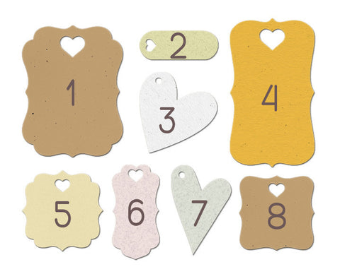 Custom Printed Gift Tags - 100 ct.