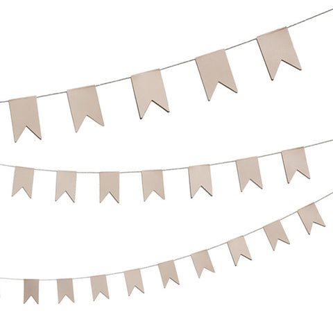 DIY Kraft Banners Garland Kit