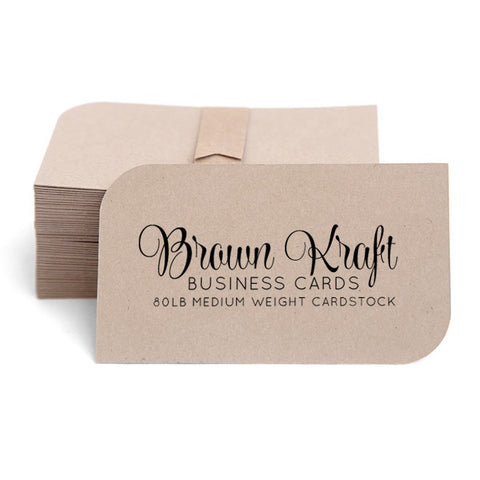 Kraft Cards / Business Cards 100-pk