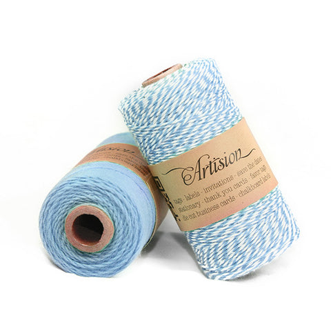 Light Blue Baker's Twine 4 ply made in USA