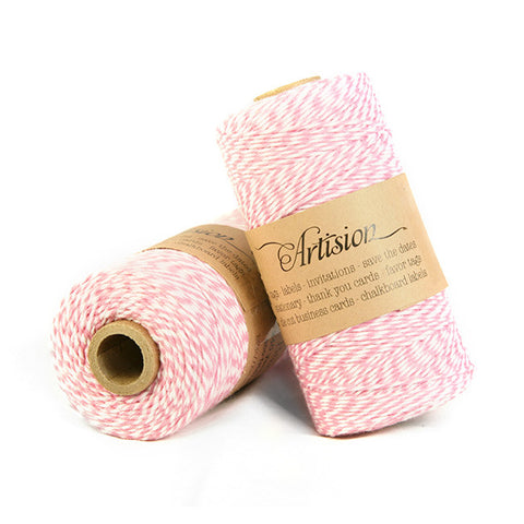 Pink Cotton Bakers Twine 4 ply made in USA
