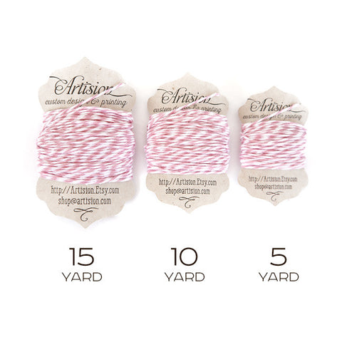 Pink Cotton Bakers Twine