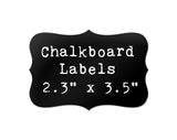 "Chalkboard Labels 3.5"" x 2.4"" 12-pk"