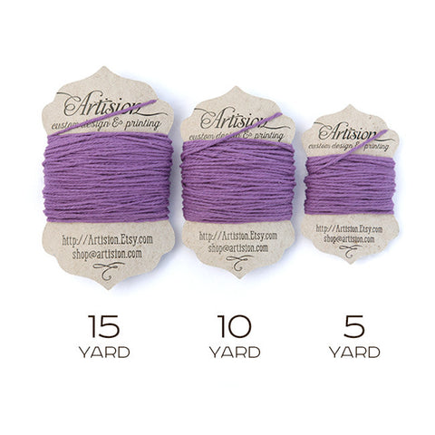 Purple Cotton Bakers Twine