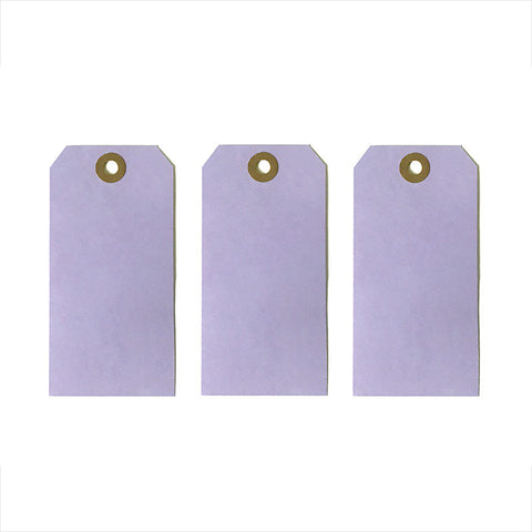 "Lavender Purple Tags 4 3/4"" x 2 3/8"" 25-pk"
