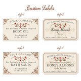 Predesigned  Bath and Body labels 54-pk