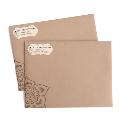 Return Address Labels and Envelopes 48-pk