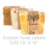 Custom Soap Labels - 100ct.
