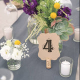Die Cut Table Numbers