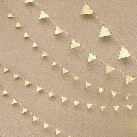 DIY Geometric Triangle Garland Kit
