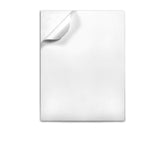 "WHITE Color label sheets 8.5"" x 11"""