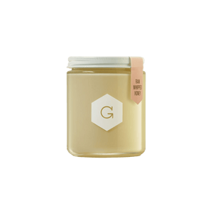 Raw whipped honey