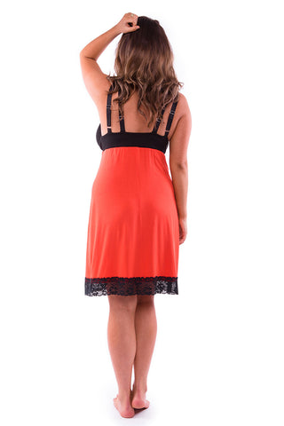 Straight-laced A-line Night Dress L'Orange