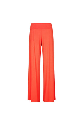 Chill Out Wide Leg Pant L'Orange