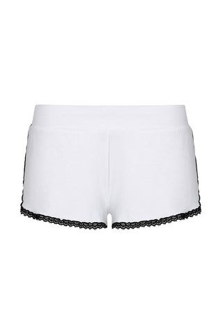 Farrah Sportie Shorts Ice White