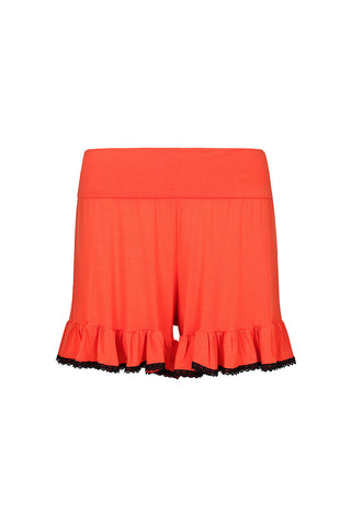 Frilling Me Softly Shorts L'Orange