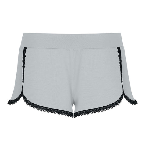 Lingerie-On Shorts Smoke