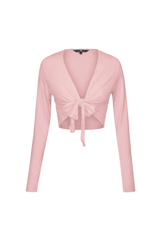 Wrap Me Up Top Ballet Pink
