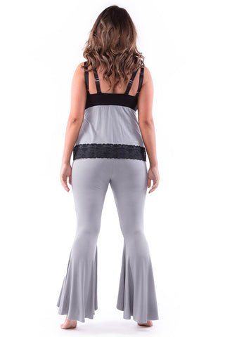 Do It With Flare Pants Smoke Grey