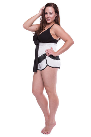 Lingerie-On Shorts Ice White