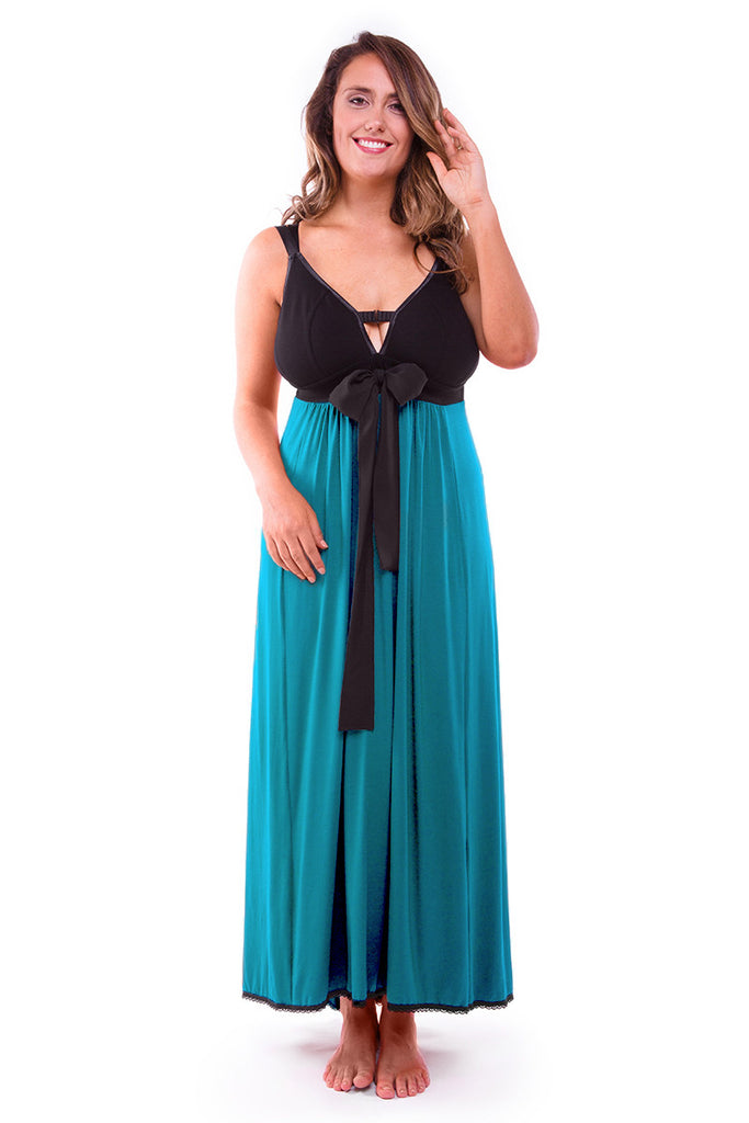 Nerida Night Dress Lagoon
