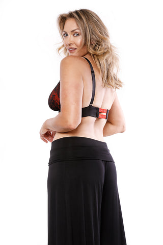 Va-Voom Bralette Black/Red