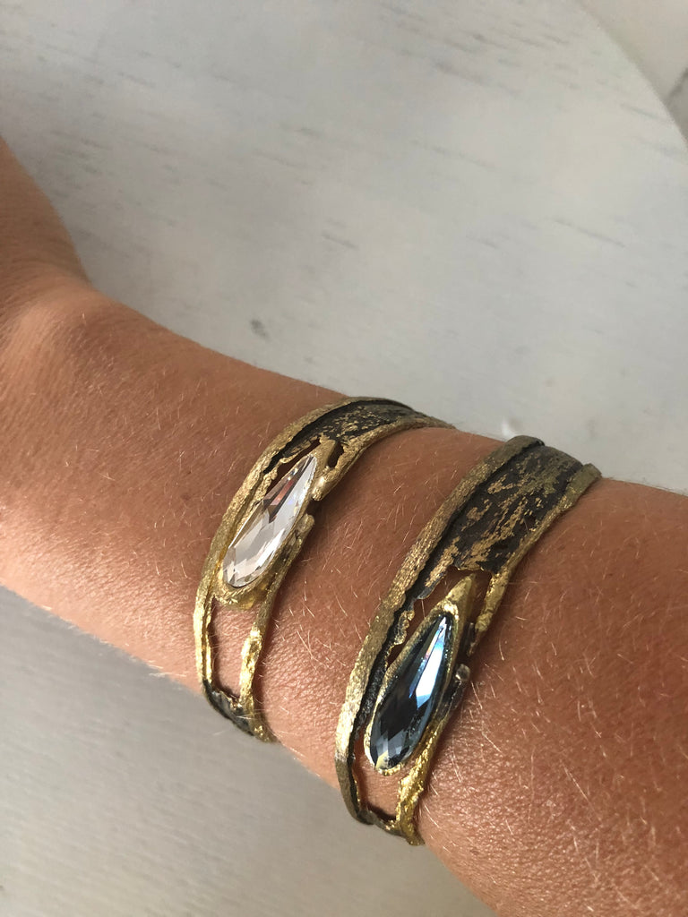 Bangle with Clear Stone