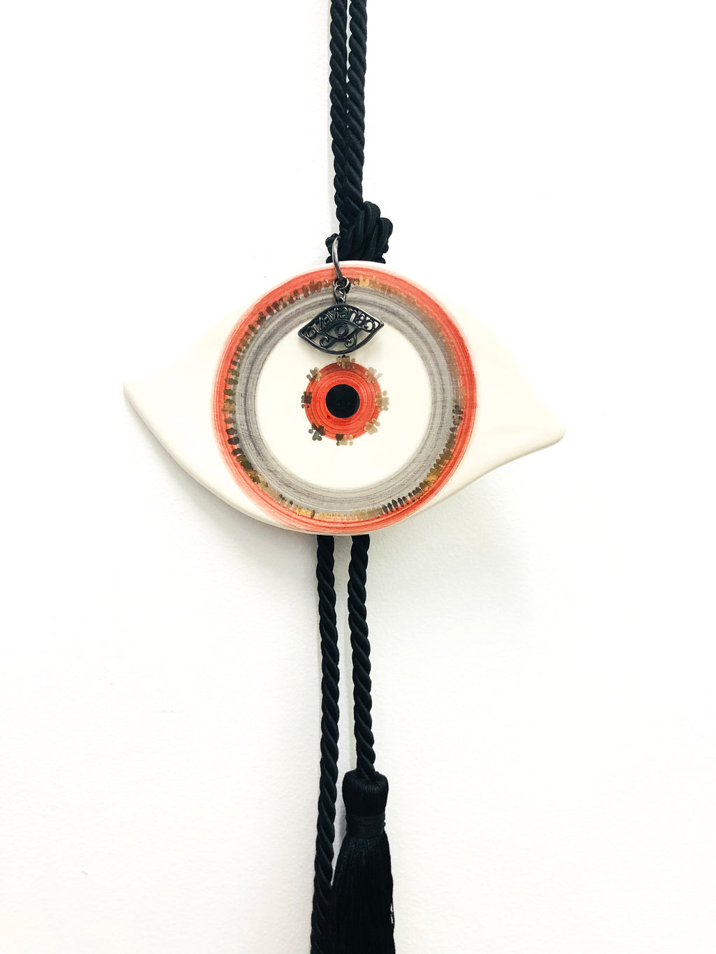 Eye Ceramic House Charm 37
