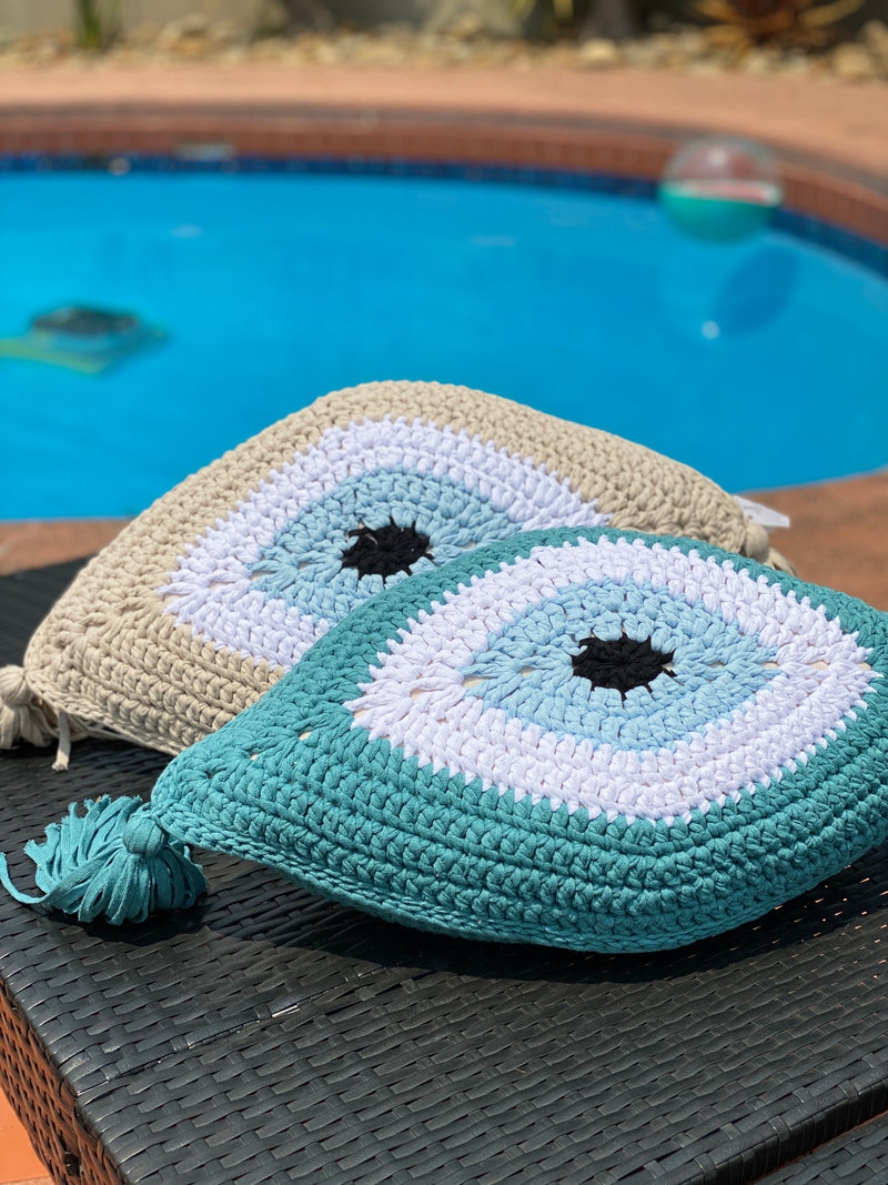 Evil Eye Cushion Large