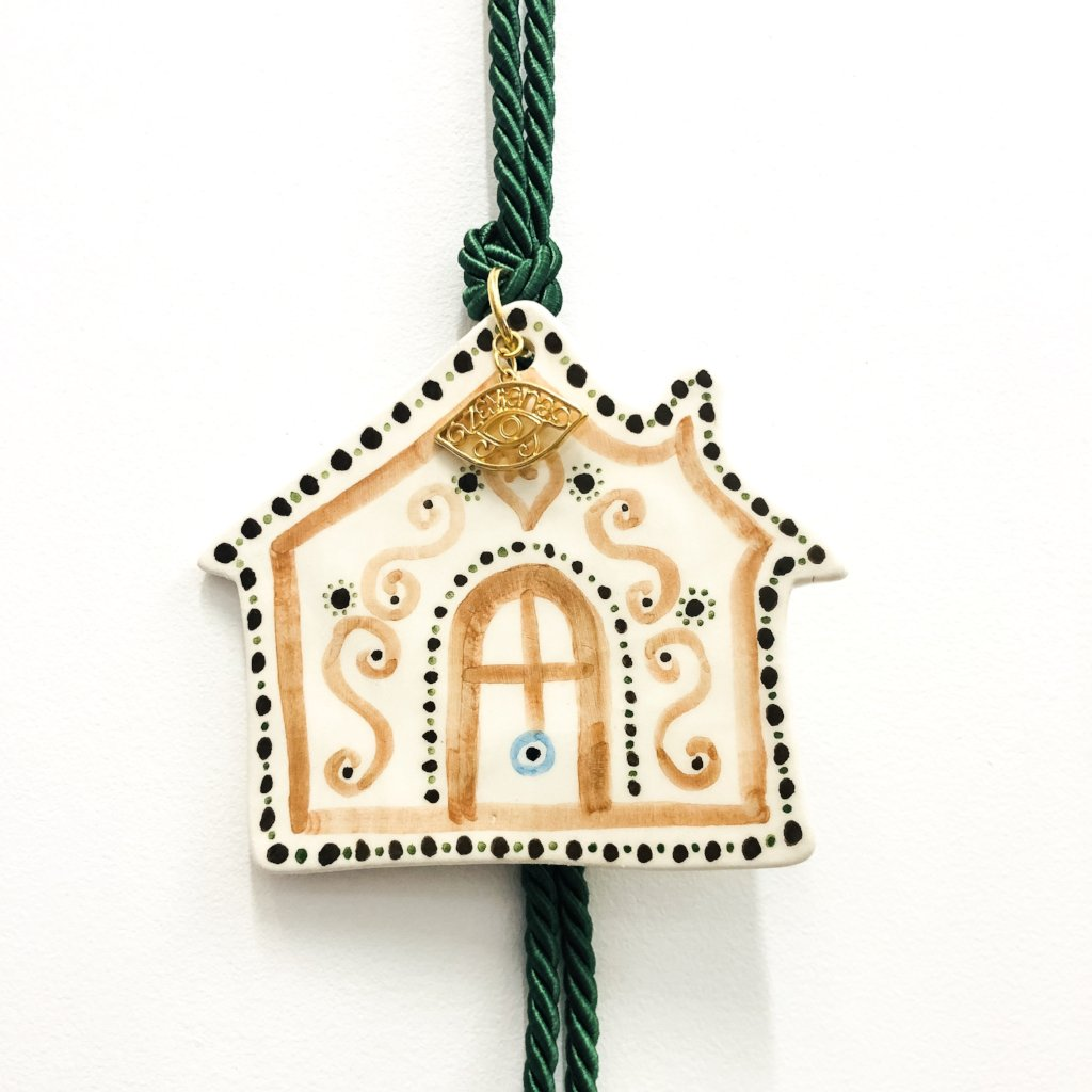 House Eye Ceramic House Charm 12
