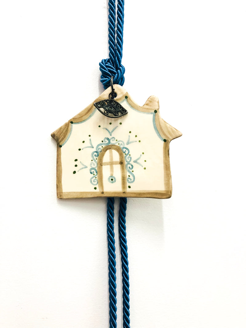 House Eye Ceramic House Charm 11