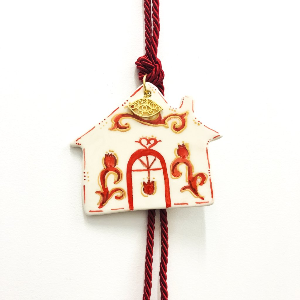 House Eye Ceramic House Charm 10