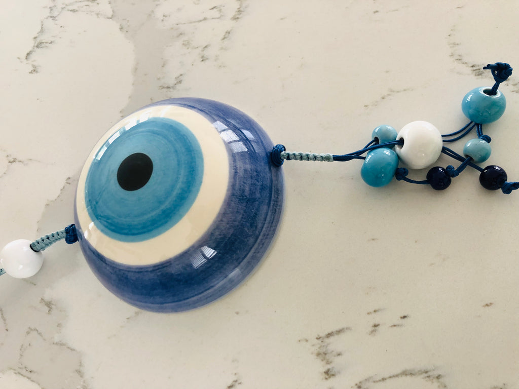 Large 3D Round Eye Ceramic House Charm 2