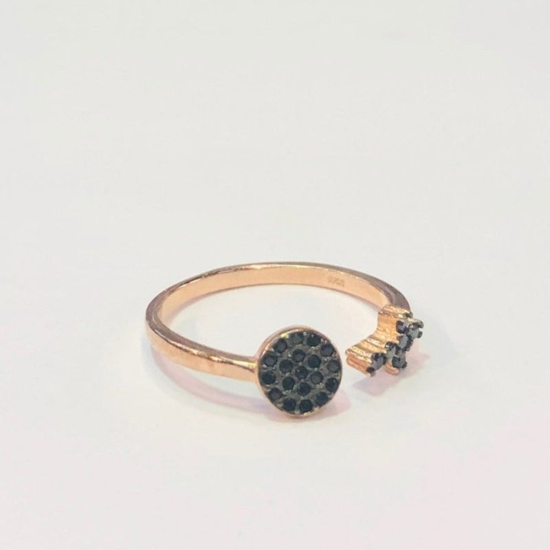 Cross & Eye Ring