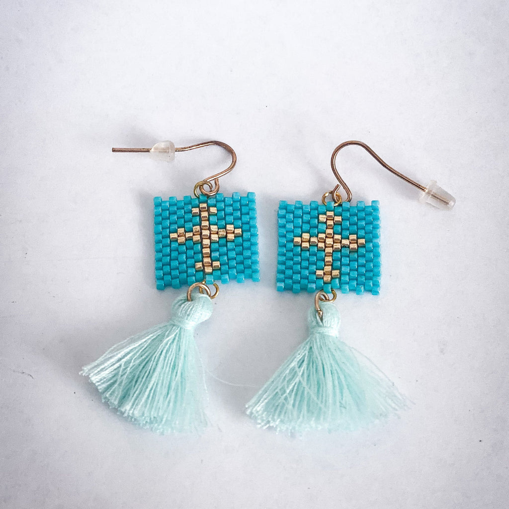 Macrame Mati Earrings 2